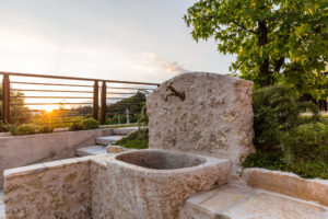 Dettagli fontana Sant'Eufemia